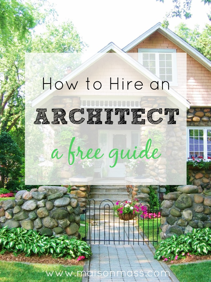 How to hire an architect maison mass for Online architects for hire